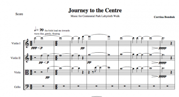 Journey to the Centre Score