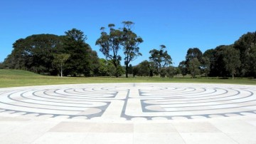 Centennial Park Labyrinth Image by Geoff Wood