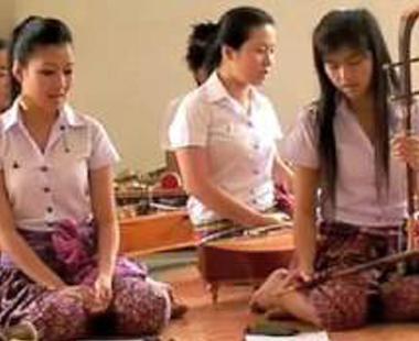 thai classical musicians